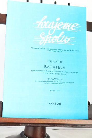 Baier J - Bagatelle for Solo Instrument & Piano